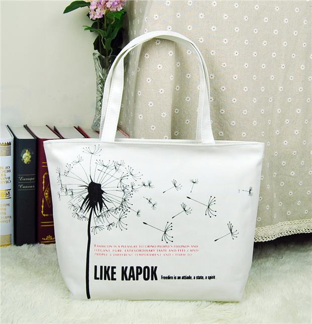 Stylish Canvas Tote Bag (end 2/10/2018 12:40 PM)