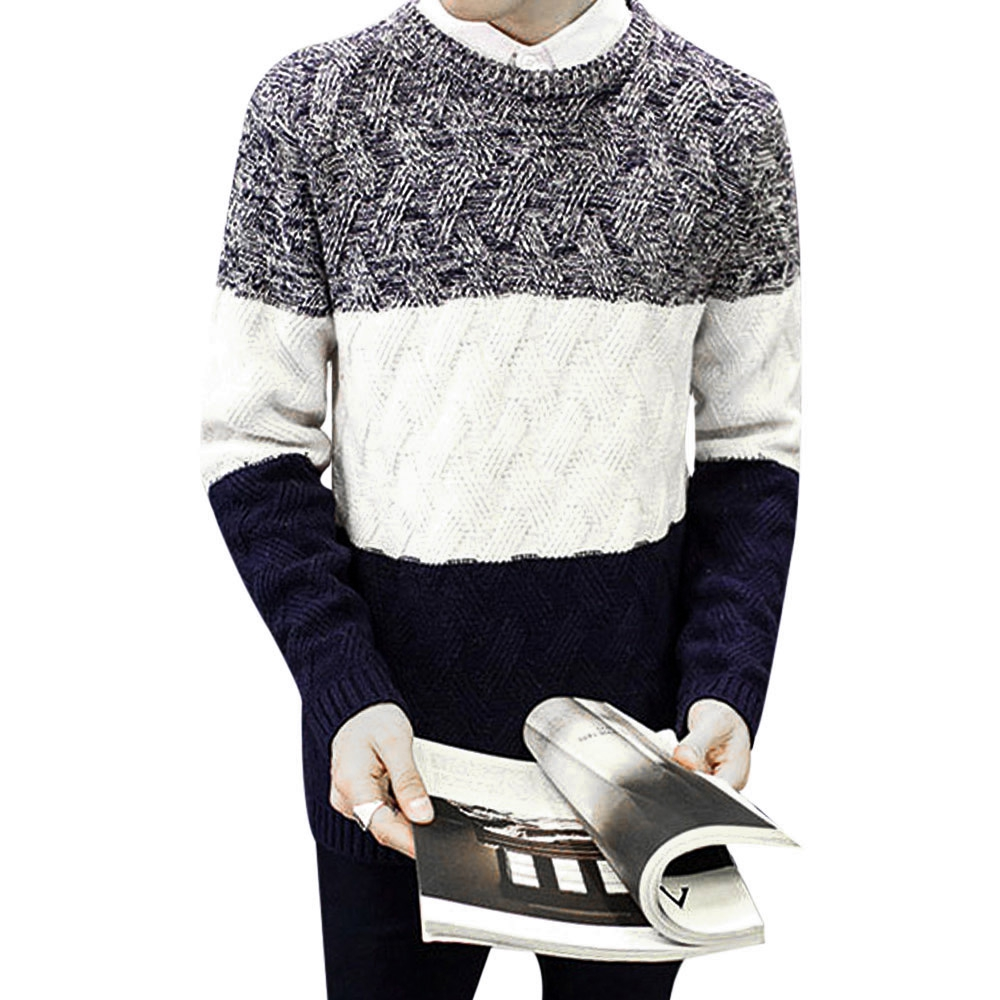 354b23023 STYLISH COLOR BLOCK ROUND NECK MALE (end 3 23 2021 12 00 AM)