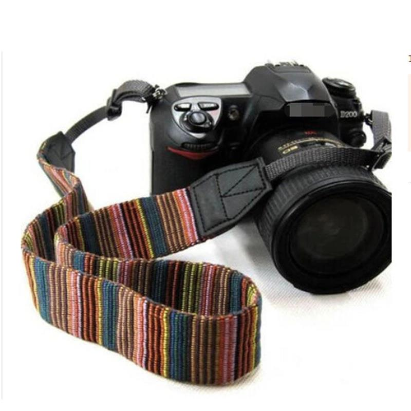 Stylish DSLR Camera Polyester Fabric Shoulder Neck Strap