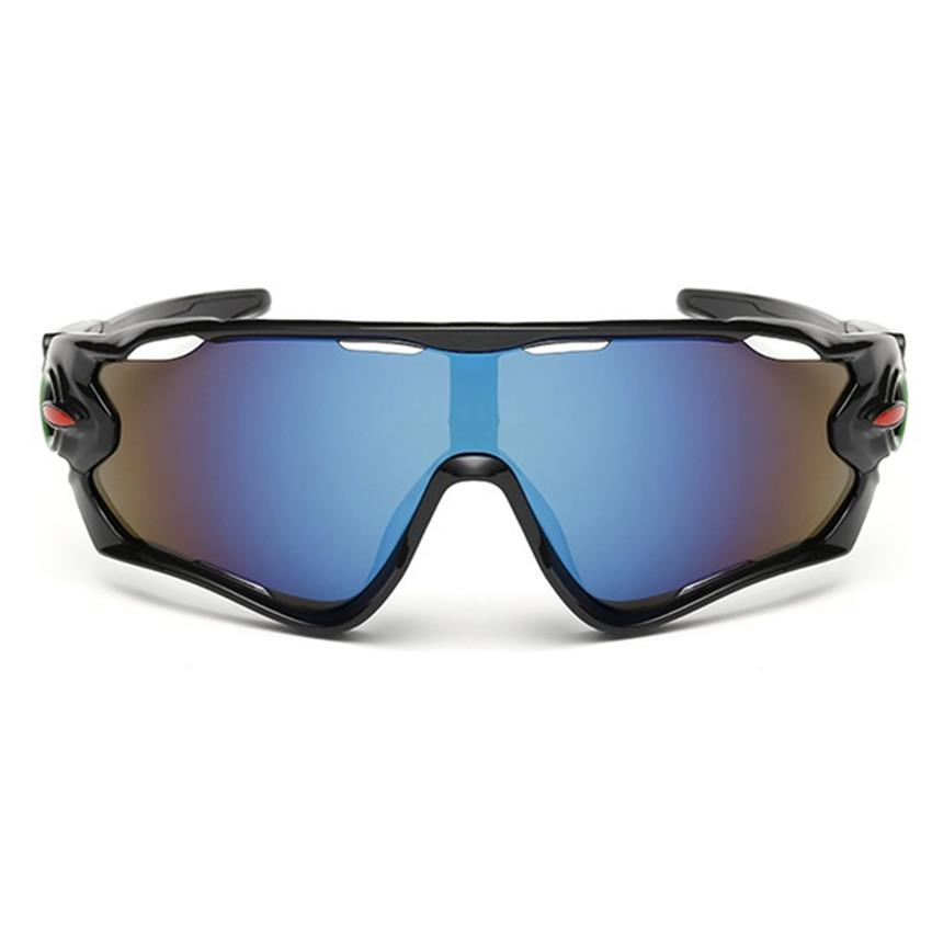 Stylish Sports Sunglasses UV400 Protection for Outdoor Sports, D2