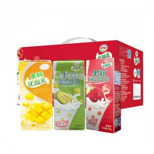 YOU SUAN RU FRUIT YOGURT MIX 3 FLAVOURS (12 BTL)