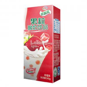 YOU SUAN RU YOGURT 250ml STRAWBERRY FLAVOUR (1BTL)
