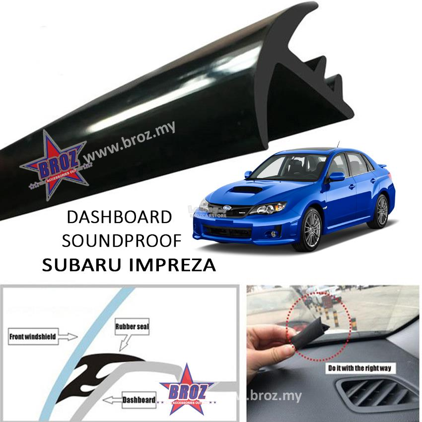 Subaru Impreza T Shape Car Sound Insulation Sound Proof