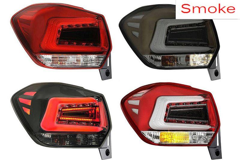 Subaru xv 13 led light bar tail lamp end 752018 244 pm subaru xv 13 led light bar tail lamp smoke red clear clear aloadofball Image collections