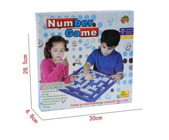 Sudoku Numbers Games Education Board Puzzle Game Set Toys Kids