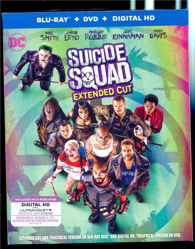 Suicide Squad - New Blu-Ray