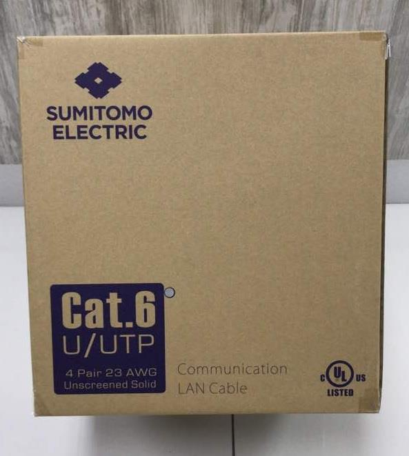 SUMITOMO ELECTRIC UTP RJ45 LAN CAT6 CABLE 305m *FROM JAPAN