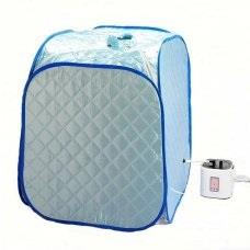 Summer Portable Blue Steam Sauna + DIGITAL Evaporator + Remote