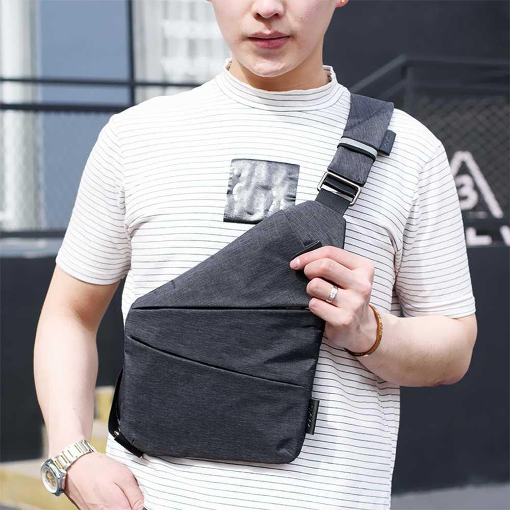 f4dfcd92e053 Summer Single Shoulder Bags for Men Water-resistant Crossbody Bags Male  Messen