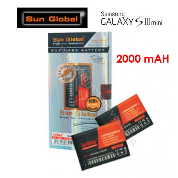 7af2aa73483 Sun Global Samsung Galaxy S3 Mini 2000mAh High Capacity Battery. ‹ ›