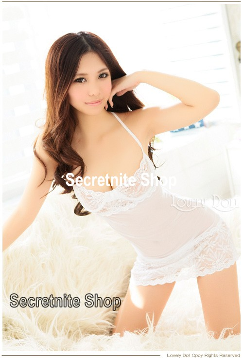 Sun@ Sexy Lingerie Night Wear Babydolls with G-string S-175