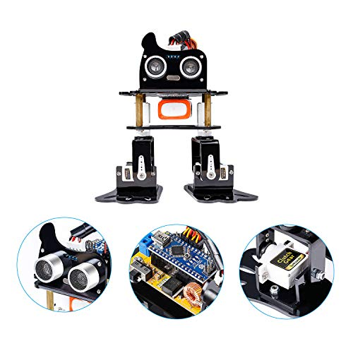 SunFounder Robotics Kit for Arduino , 4-DOF Dancing Sloth Programmable DIY Rob