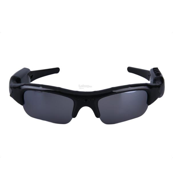 Sunglasses Camera MP3 Player With Earphone HD DVR TF Audio Video Recor