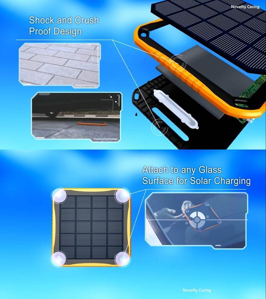 Sungzu Solar Charger Power Bank End 8 4 2019 515 Pm Powerbank 5600mah