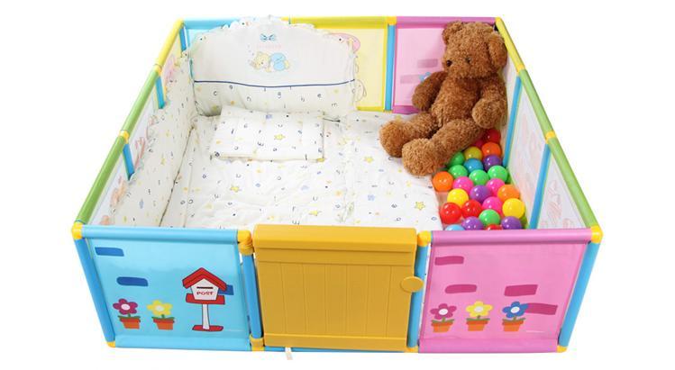 Sunny Cat Play Yard / Play Fence Set (Build My House)
