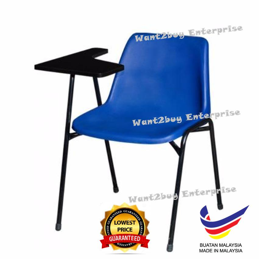 Sunny Chair With Handle Writing Board Plastic Seat (Made In Malaysia)