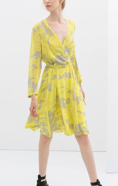 88fae658664 Sunset Floral Crossover Dress (end 10/7/2019 5:15 PM)