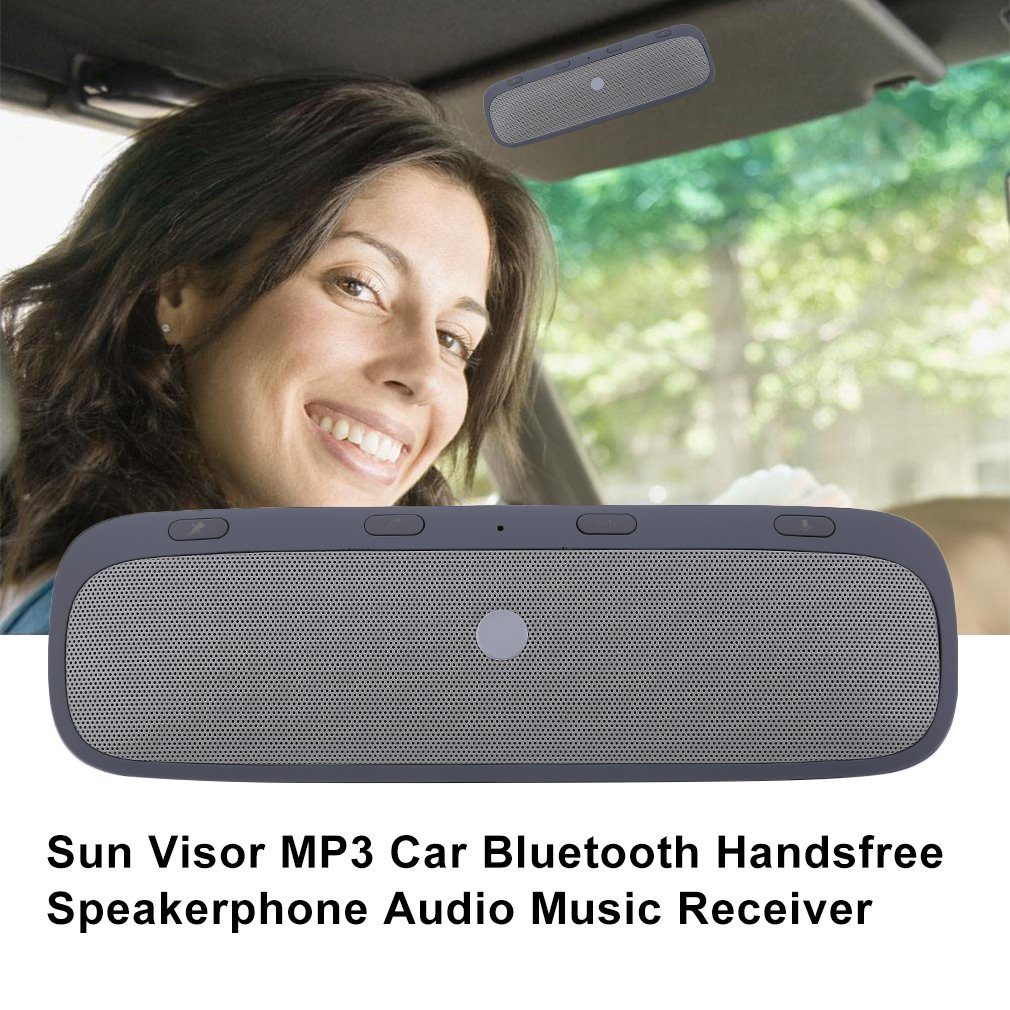 Sunvisor speaker Wireless Bluetooth Handsfree Car Kit Speakerphone