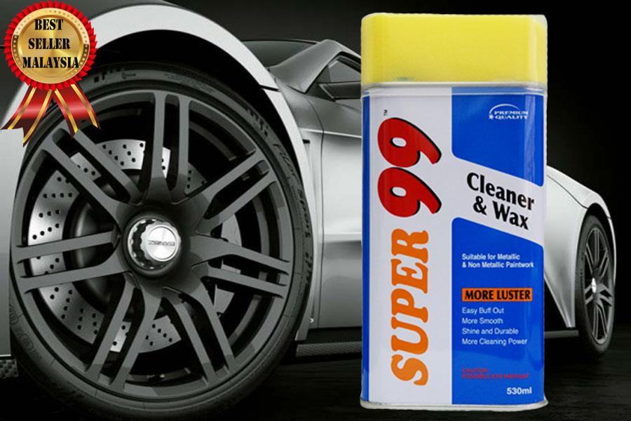 New Super 99 Cleaner And Wax Car Wheel