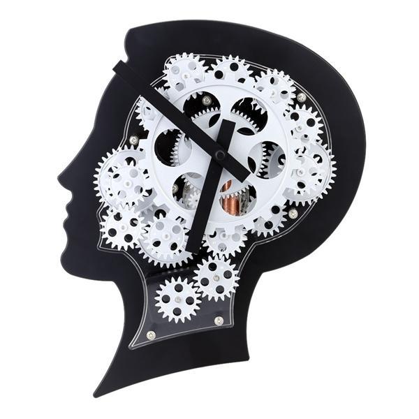 Super brain gear clock motion brain end 2242018 315 pm super brain gear clock motion brain wall clock nice gift negle Image collections