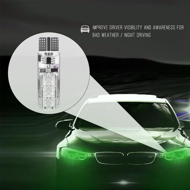 Super Bright T10 6SMD LED Lights Car Interior With Remote Control