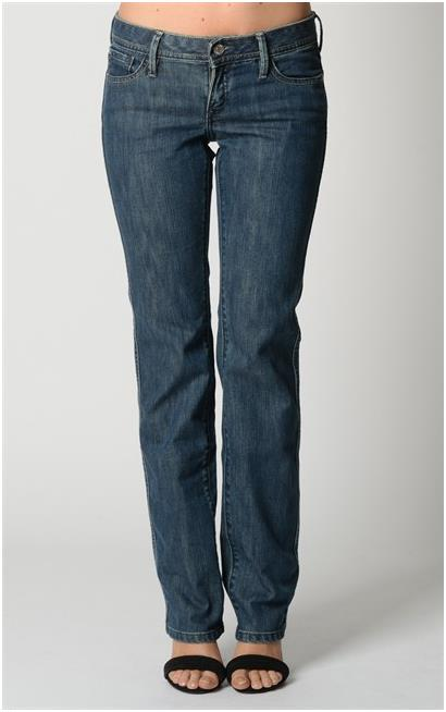 Super Curve Straight BlueDenim Jeans