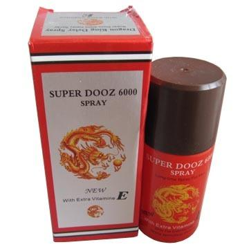 SUPER DOOZ 6000 45ml red Delay Spray for male FREE SHIPPING