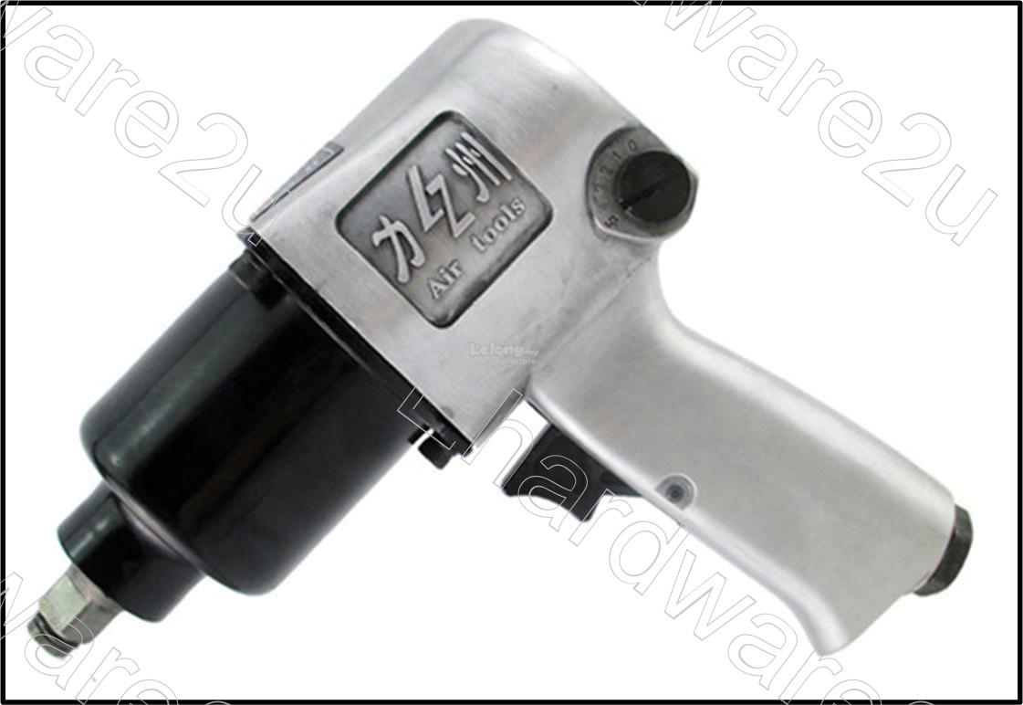 Super Duty 1/2'DR Twin Hammer Air Impact Wrench 650Nm (LZ-218)