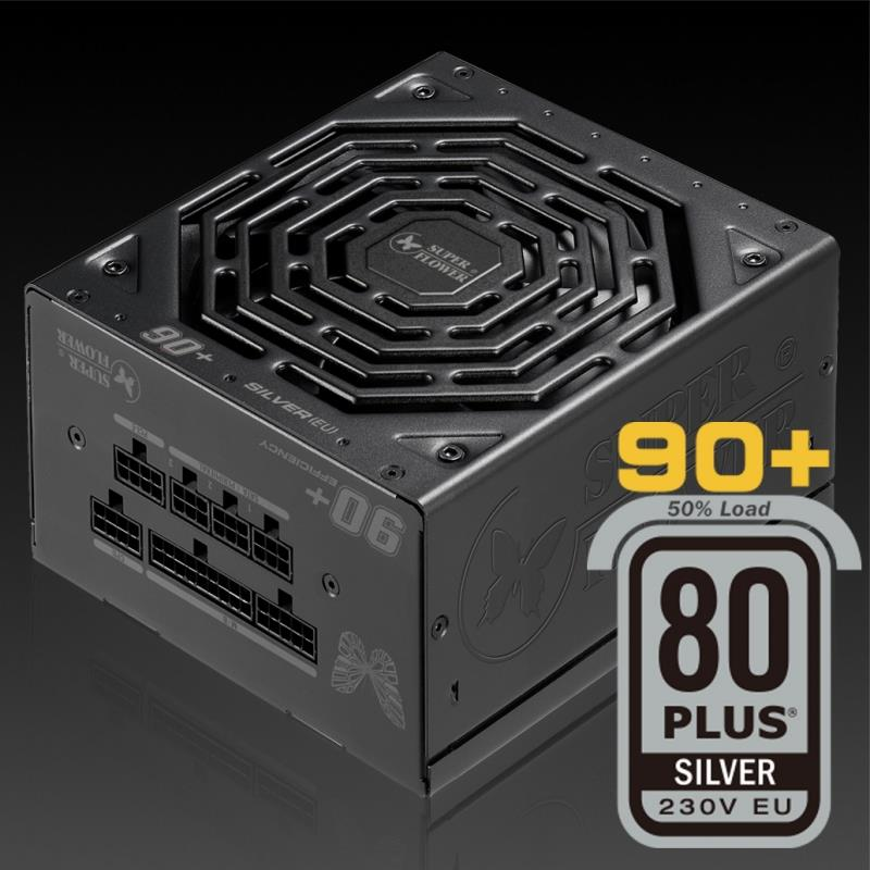 Super Flower 80+ Silver Eco 500w Full Modular Power Supply