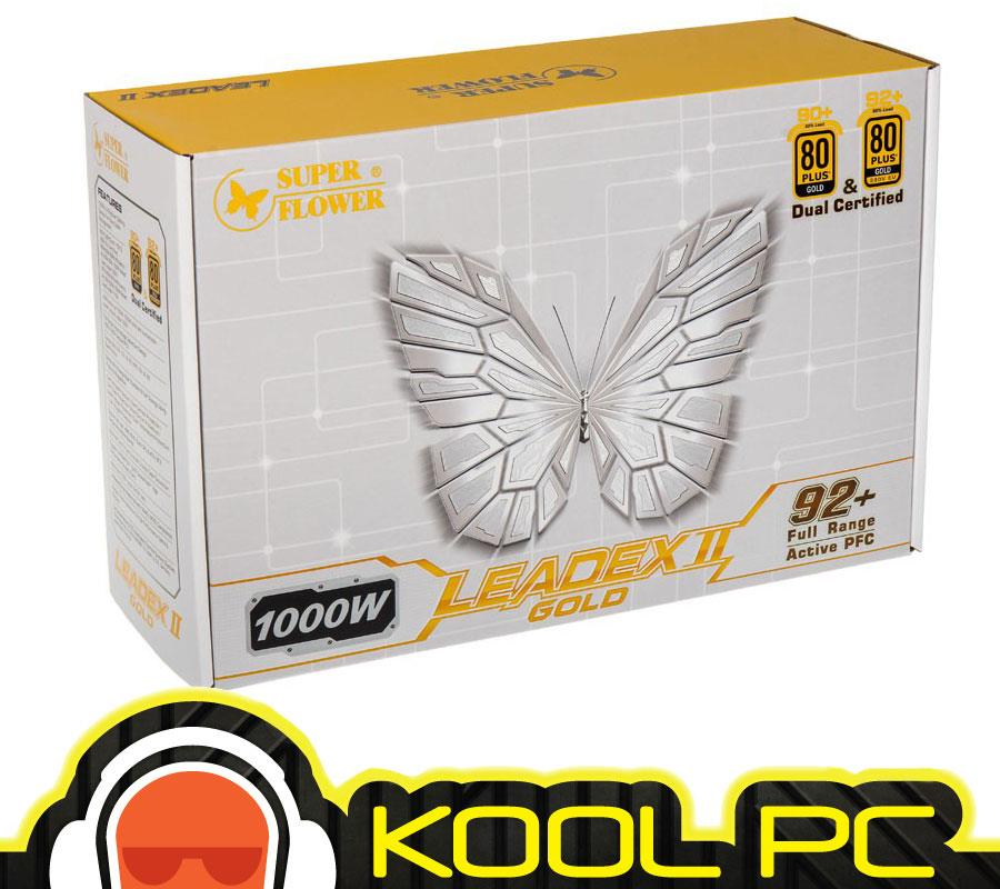# Super Flower Leadex II Gold 1000W Full Modular PSU