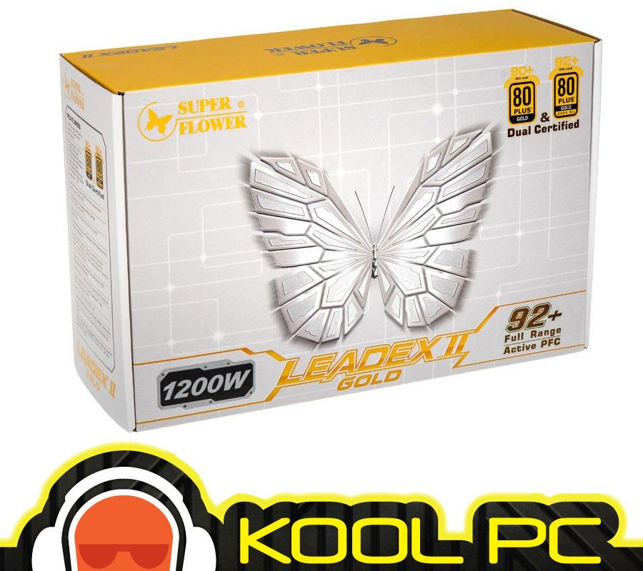 # Super Flower Leadex II Gold 1200W Full Modular PSU
