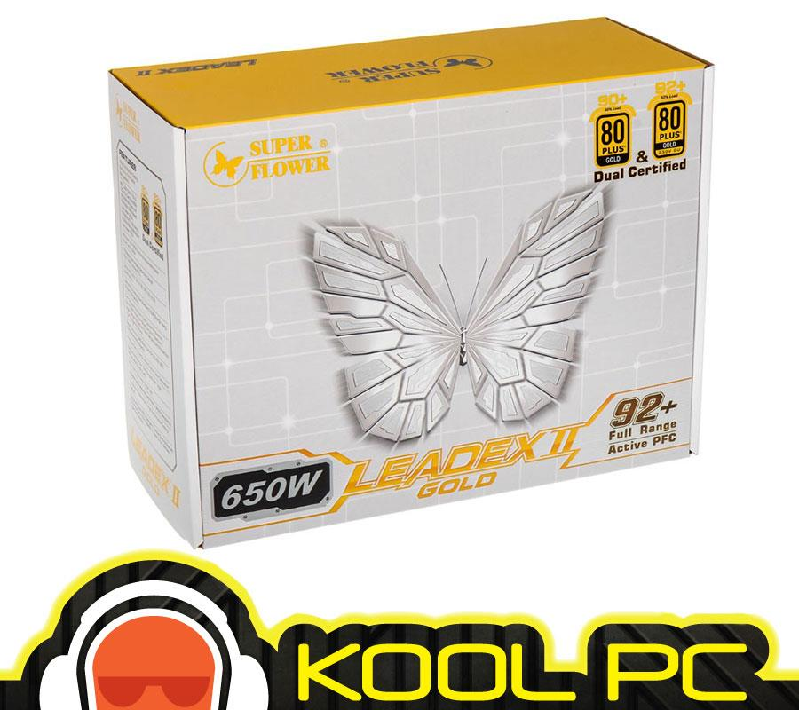 # Super Flower Leadex II Gold 650W Full Modular PSU