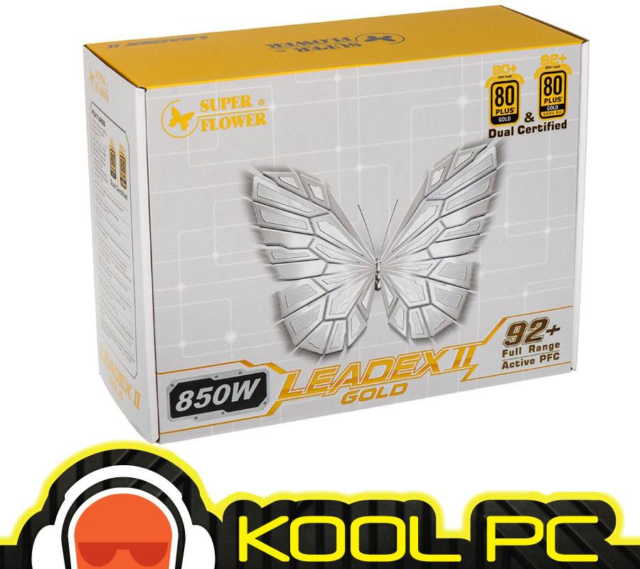 # Super Flower Leadex II Gold 850W Full Modular PSU (Black)