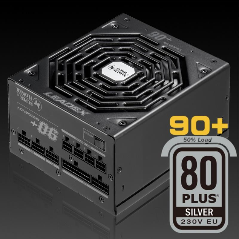 Super Flower Leadex Silver 550W Full Modular PSU