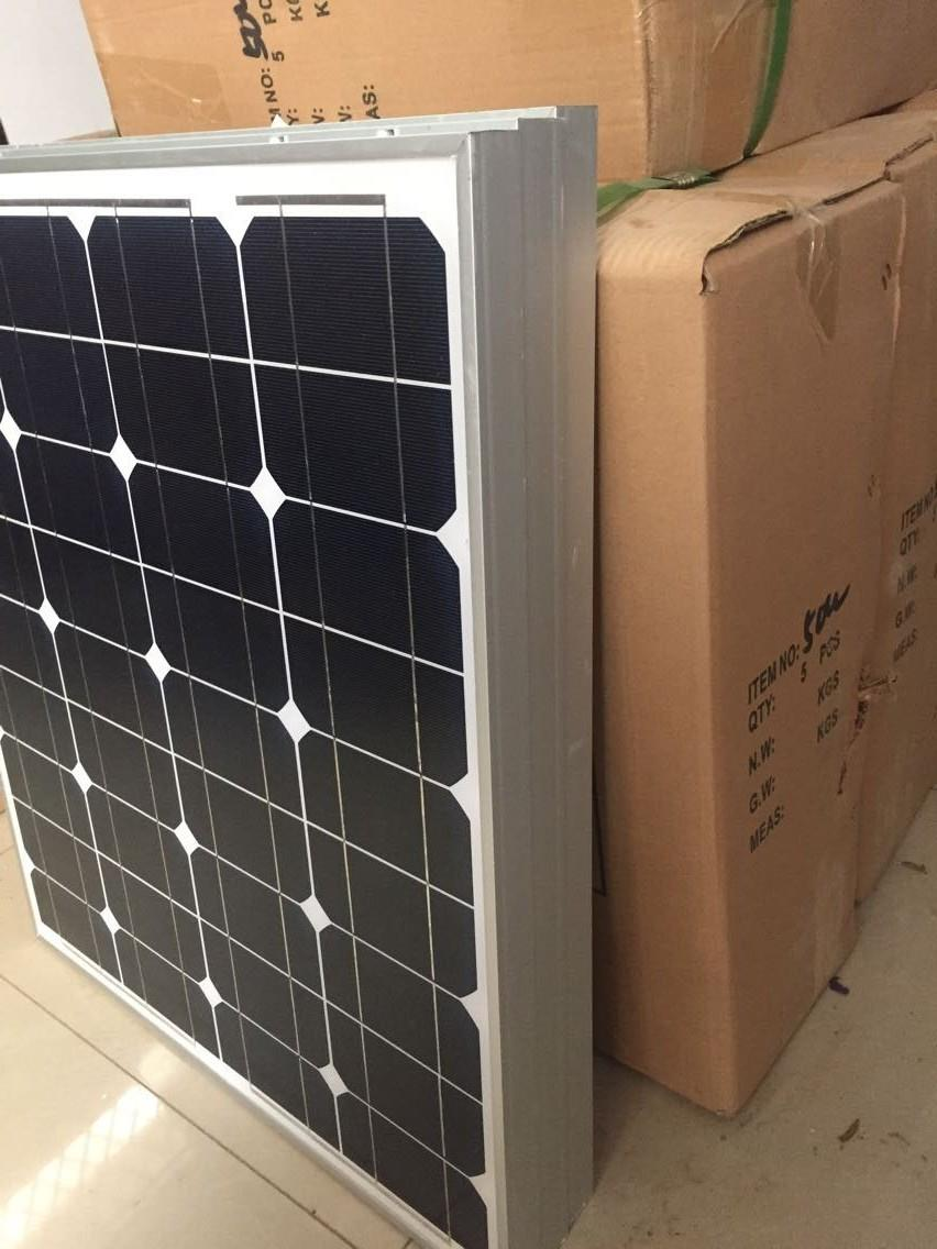 Super High Quality 50W Solar Panel 6pcs