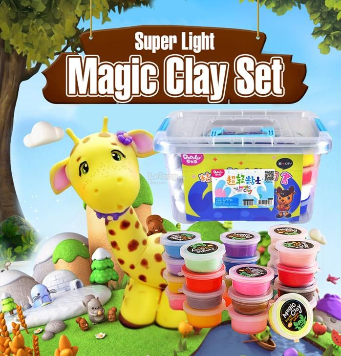 Super Light Magic Clay Set