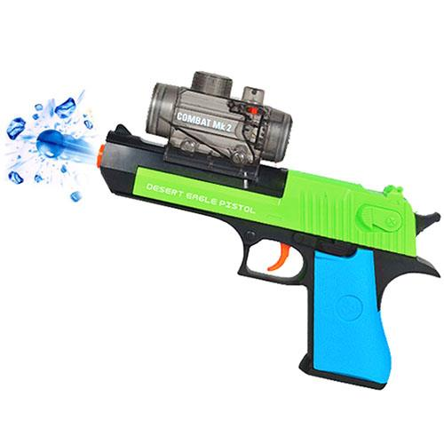 Shooting Game Water Crystal Gun 2-in-1 Nerf Air Soft Toy Gun