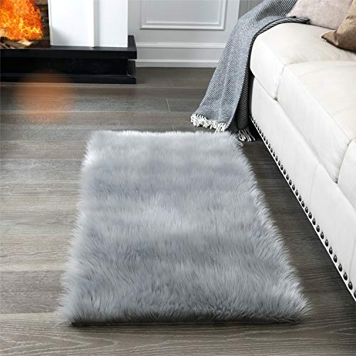 Super Soft Fluffy Rug Faux Fur Are End