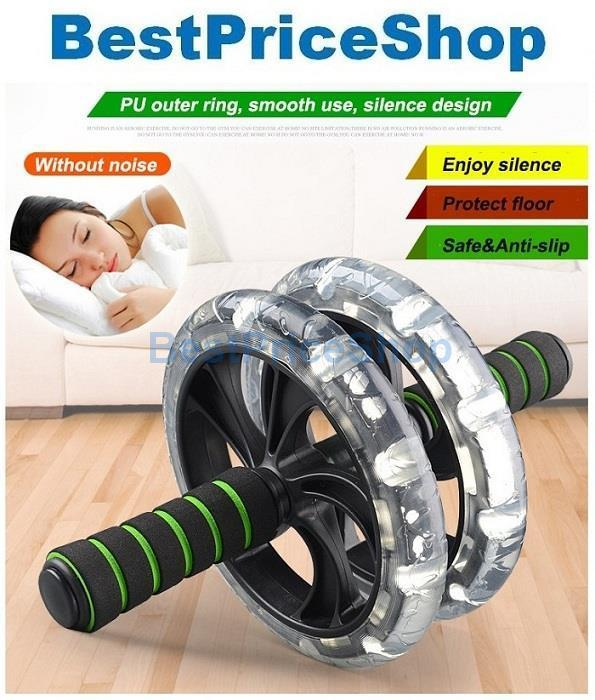 best ab roller 2020 Super Stable & Silent Double Wide Ab (end 2/3/2020 11:21 AM)