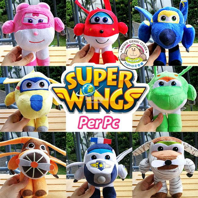 Super Wings Soft Plush Toy Doll (20cm Per Pc)