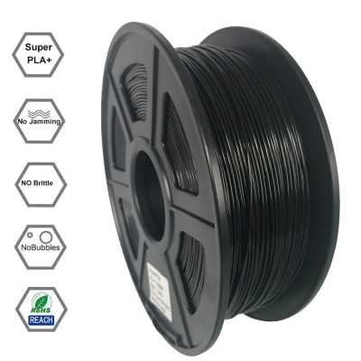 Superfila 3D Printing Filament PLA 1 75mm For Creality CR-10S Ender 3  (BLACK)