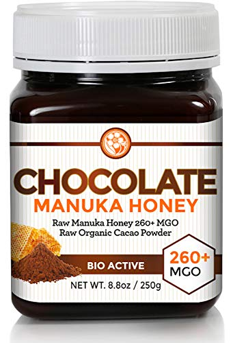 Superfood Manuka Honey with Organic Cacao | A Healthy Spread and Treat for Adu