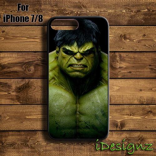 buy popular 5df90 abb7c Superhero Hulk Marvel Comic Case Cover for iPhone X 8 8+ 7 7+ 6 6+ 5S
