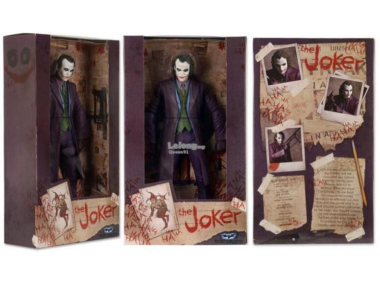 Superhero The Joker Action Figure PVC Toys C638