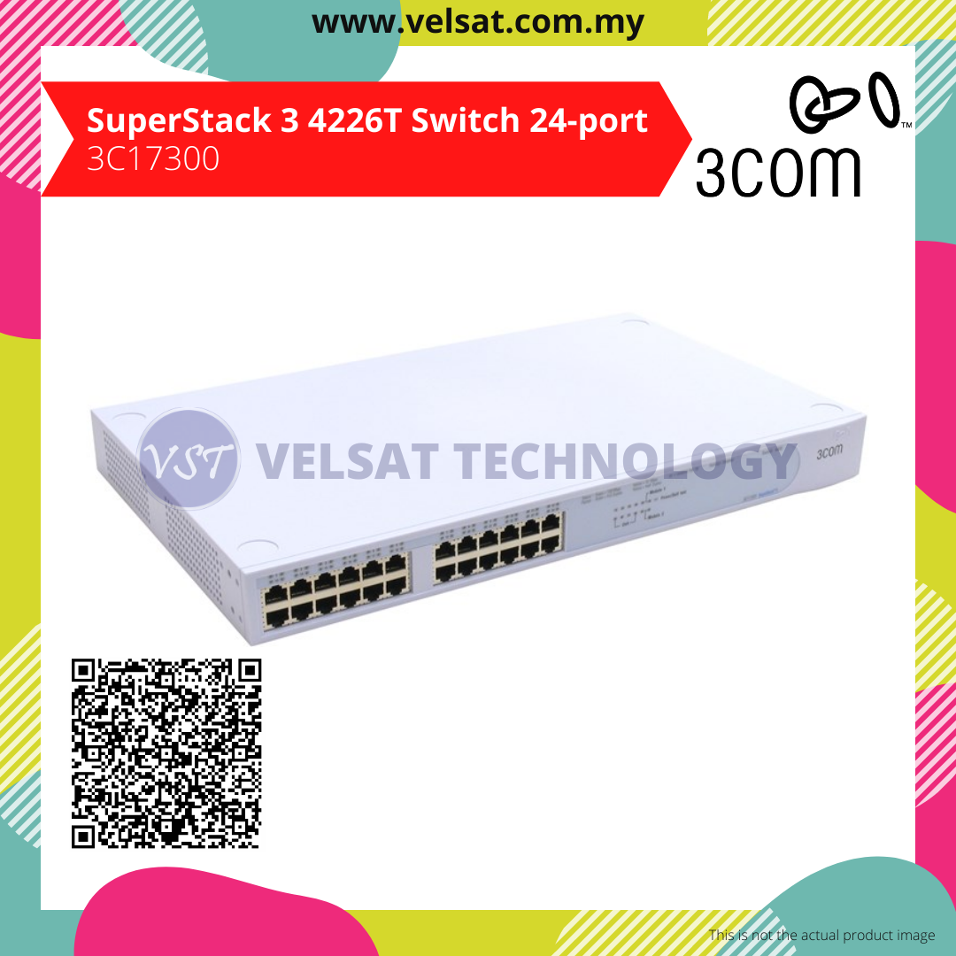 SuperStack 3 4226T Switch 24-ports