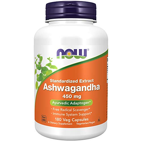 NOW Supplements, Ashwagandha (Withania somnifera)450 mg (Standardized Extract)