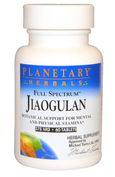 Support Mental & Physical Stamina, Jiaogulan 375mg 绞股..