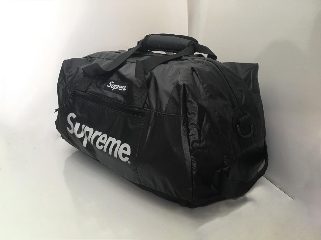1ce6bf10db SUPREME Duffle Bag Black Travel Bag  Gym Bag (PLDB-0001) P006