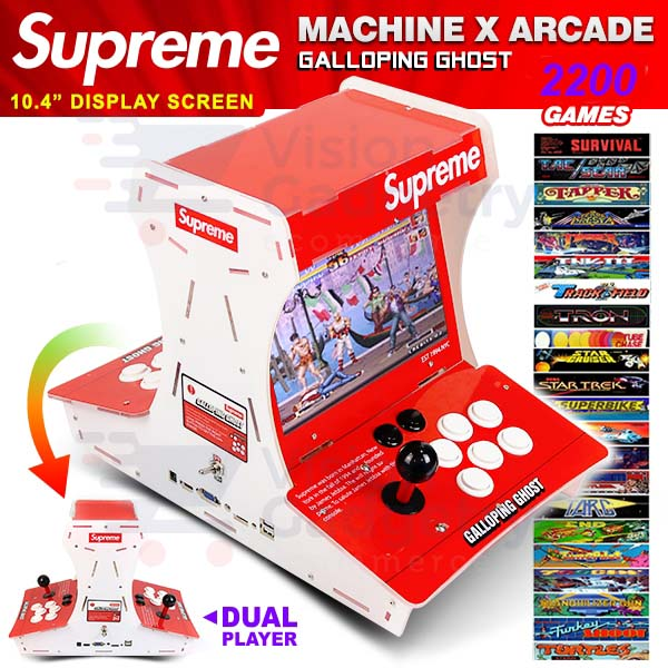 Supreme Game Arcade Pandora Box Game Console 3D Version 2200 Games