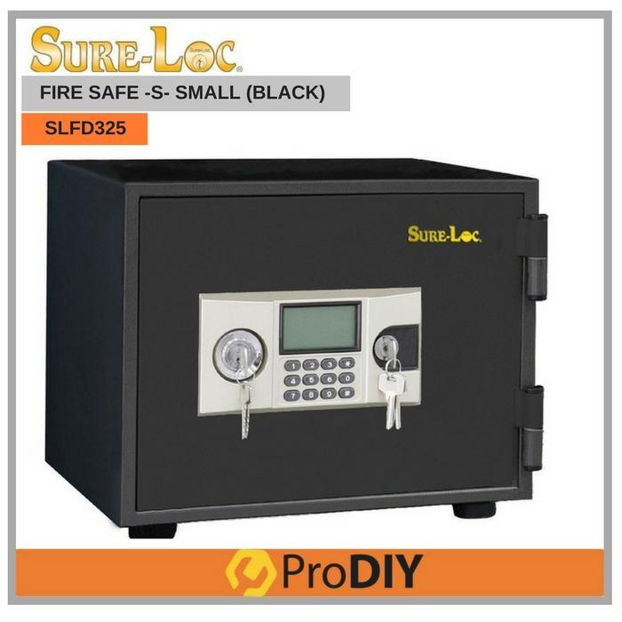 SURELOC SLFD325 fire Proof Small Size Digital Safety Box Security